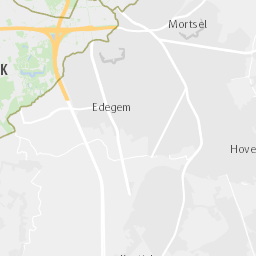 Gebied Lage Emissiezone Stadsplan Antwerpen Be