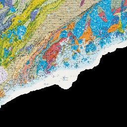 Geologic Map Of Maine.Bedrock Geologic Map Of Maine