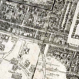 Great Fire Of London Map.The 1666 Great Fire Of London Then And Now