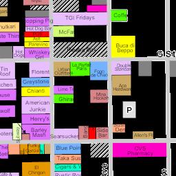 Gaslamp Map 2017