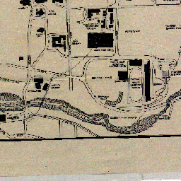 1914 Cornell Campus Map