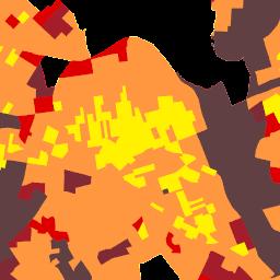 ArcGIS - New York Population Density