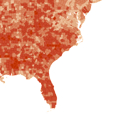 Unemployment Map Series