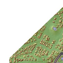 ArcGIS - UH Manoa Campus map